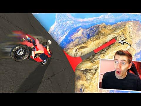 GTA V Online: A RAMPA 99,9999% INCLINADA com MOTOS!!! (MELHOR de 2020)