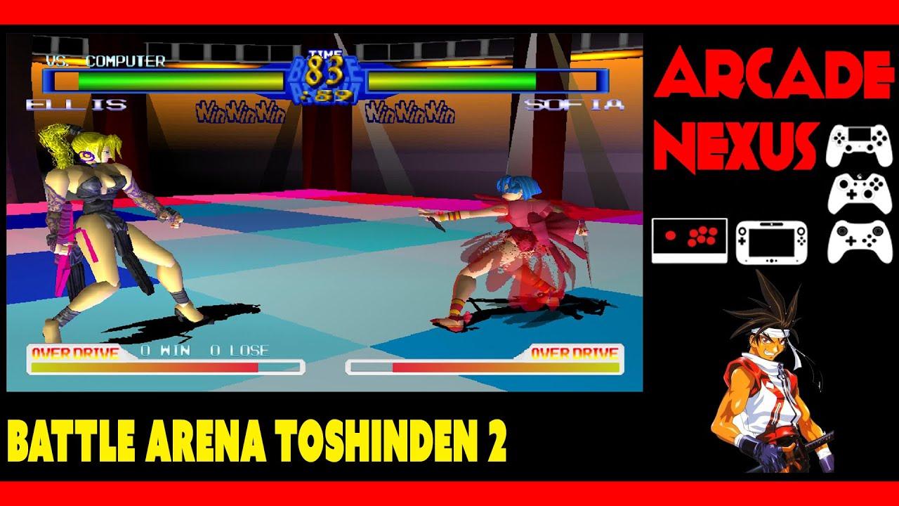 Battle Arena Toshinden 2 Stage Sofia Youtube