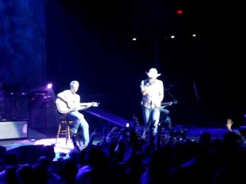 Jason Aldean - Heaven - Bryan Adams Cover - Crown Coliseum - Fayetteville NC Feb 5th 2010