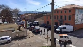 At least one reportedly killed in France hostage standoff
