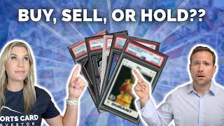5 Sports Cards: BUY, SELL, or HOLD?? 📈📉 (will KD's cards fall after the Finals?)