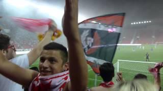 Euforie po Zmrhalovo gólu; SK Slavia Praha - FC Baník Ostrava (1:0) 3:1