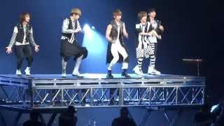 120520 SHINee - Lucifer Opening SMTOWN 2012 Honda Center