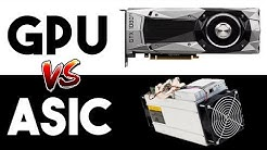 GPU Mining VS Asic Mining In 2019 | Which Is More Profitable?