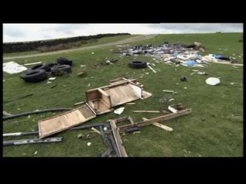 Fly-tipping Action Wales feature on Rogue Traders