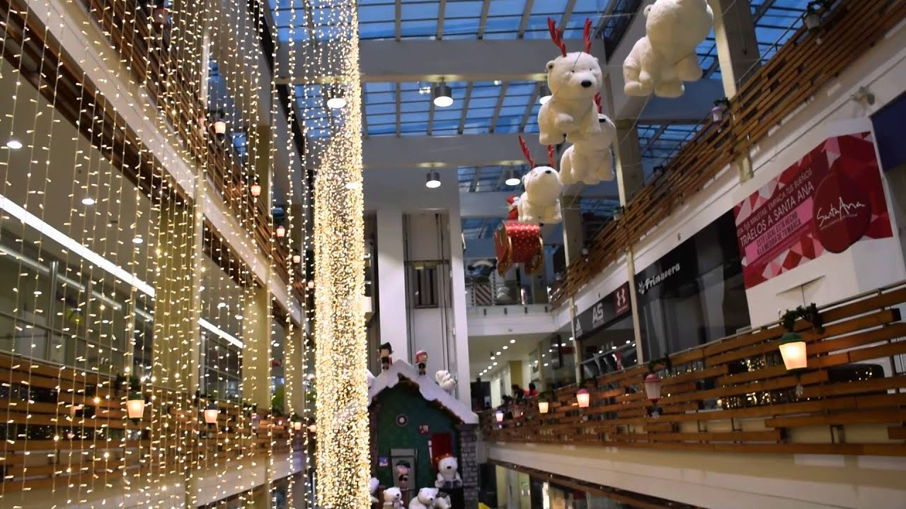 decoraci n navidad centro comercial santa ana bogota youtube