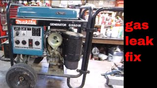Makita generator gas leak repair
