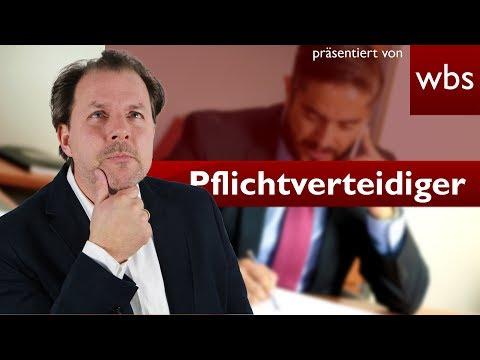 Dürfen Pflichtverteidiger ihr Mandat niederlegen? | Rechtsanwalt Christian Solmecke
