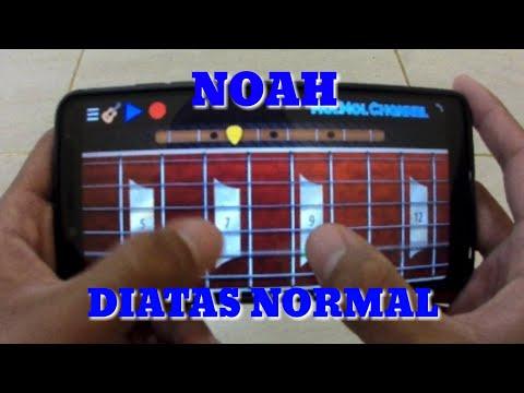 Intro Noah - Diatas Normal (Real  Guitar) Cover By MulMol