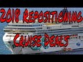 Live Cruise Ship News: Cruise Ship Vacation Repositioning Deals for 2018 From Only $32 a Day