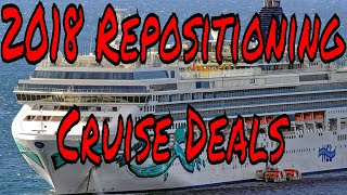Download Video Live Cruise Ship News: Cruise Ship Vacation Repositioning Deals for 2018 From Only $32 a Day MP3 3GP MP4