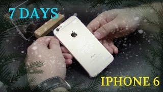 Оригинальный IPhone 6 опыт использования и мнение пользователя. Все плюсы и минусы про IPhone 6