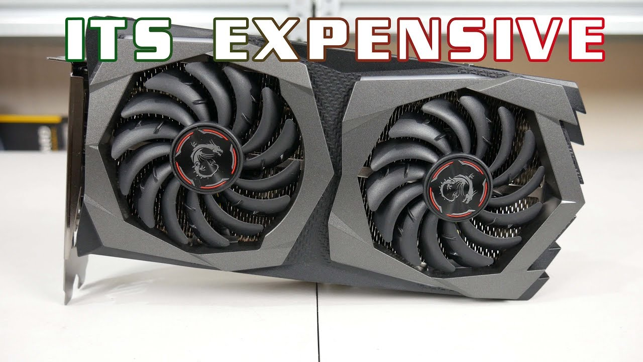 MSI RTX 2060 Gaming Z 6G - another GOOD RTX card but £400??