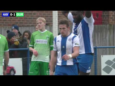 Haywards Heath Town vs Guernsey FC - 19th January 2019