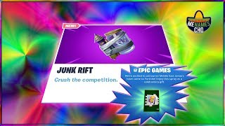 💥MenamesCho's LIVE 🔵 NEW JUNK RIFT ITEM ✨ FREE SPRAY 🗣 Fortnite Battle Royale 20th August 2019