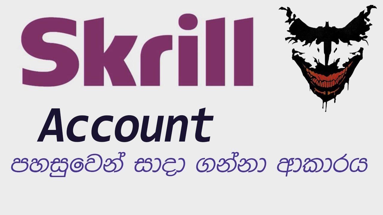 Create Skrill Account