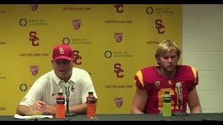 USC Football - Post Game Presser W. Michigan