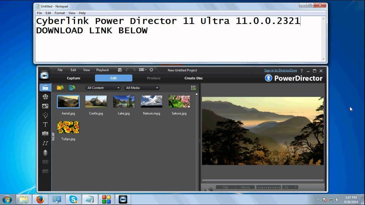 Cyberlink powerdirector 11 ultra v11 0 0 2321 final ml rus