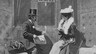 1899 early film kiss - 'The Kiss in the Tunnel' | BFI National Archive