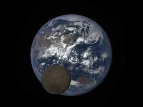 NASA/NOAA video: EPIC camera catches moon passing between ...