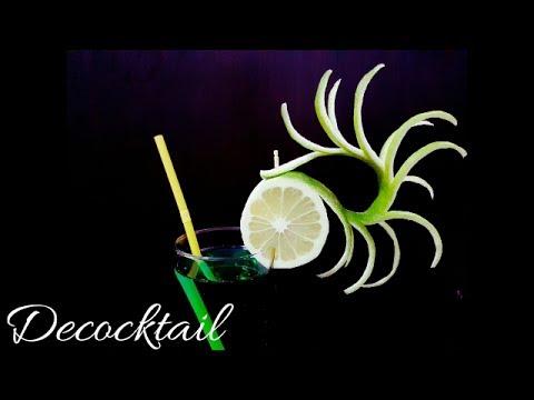 Decoracion para cocteles con limon muy bonito y elegante for Adornos para cocteles