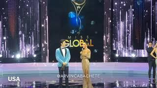 Miss Global 2018 Final Top 5 Q&A