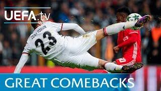 Beşiktaş and other Champions League comebacks, featuring Cenk Tosun and Steven Gerrard