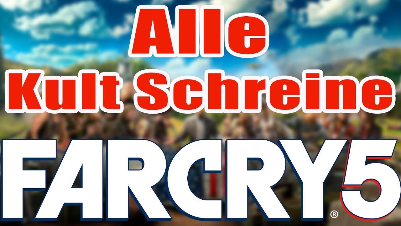 Far Cry 5 Schreine Zerstören Karte.Far Cry 5 Guide Alle 16 Kult Schreine Orte All 16 Cult Shrines Location Faith S Gebiet