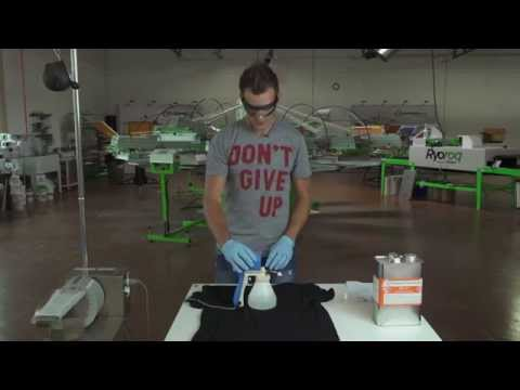 How to Use and Maintain A Spot Cleaning Gun for Screen Printing