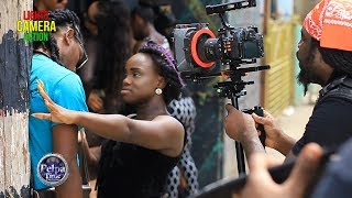 Vybz Kartel - MHM HM VIDEO SHOOT BEHIND THE SCENES ( Lights Camera Action ) on Pelpa Time TV