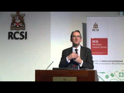 RCSI MiniMed Lecture Series 2014/2015 – 'Breast Cancer – What Do We Know Now?' – Prof Arnold Hill
