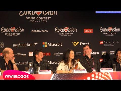 Eurovision Press Conference: San Marino Anita Simoncini & Michele Perniola | wiwibloggs