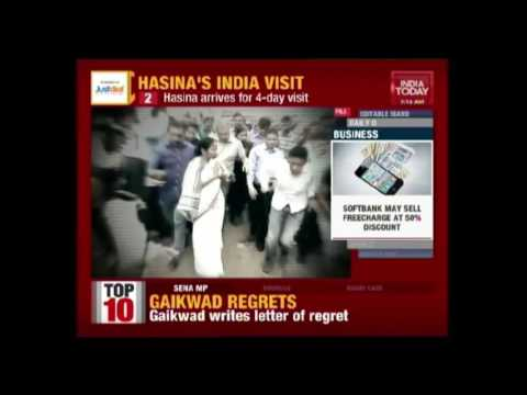 Bangladesh PM, Sheikh Hasina To Meet PM Modi In Her 4 Day India Visit