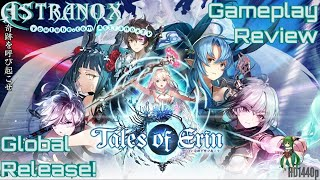 TALES OF ERIN Farming Fire Raids - Tales of Erin Leona Gameplay Review #152 Guide Tips F2P