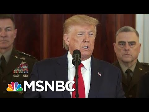 President Trump: No Americans, Iraqis Harmed In Iran Missile Attack, New Sanctions Coming | MSNBC