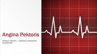 Angina pectoris adalah nyeri dada akibat penyakit jantung koroner. Angin duduk atau angina pectoris .