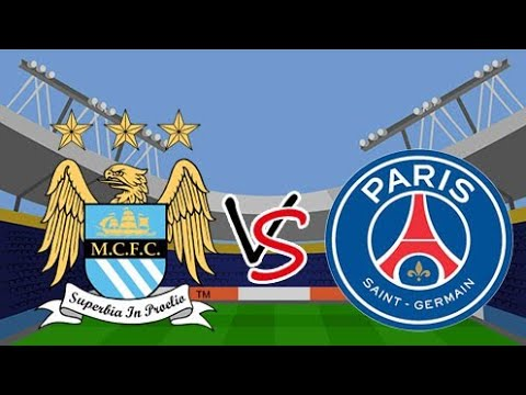 FULL MATCH - Manchester City 🏴 vs PSG 🇫🇷 Football ...