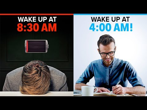 5 BEST Ways To Wake Up At 4:00 AM Every Day | Scientifically Proven