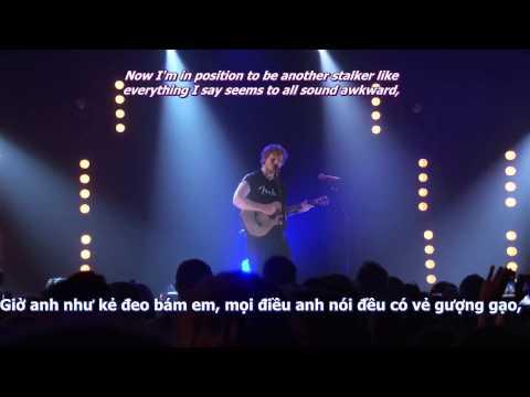 [Lyrics+Vietsub] Ed Sheeran - U.N.I (live @iTunes Festival 2011)