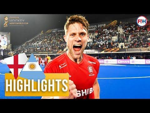 England v Argentina | Odisha Mens Hockey World Cup Bhubaneswar 2018 | HIGHLIGHTS