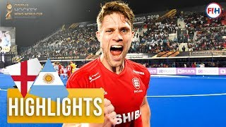 England v Argentina | Odisha Men's Hockey World Cup Bhubaneswar 2018 | HIGHLIGHTS