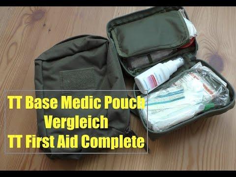 effbaafbf36 TT Base Medic Pouch Vorstellung im Vergleich zum TT First Aid Complete