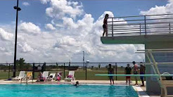 The Oklahoma High Dive Back Flip
