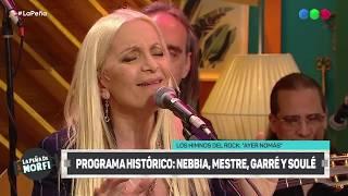 Histórico show de Lito Nebbia, Nito Mestre, Silvina Garré y Ricardo Soulé - La Peña de Morfi 2019