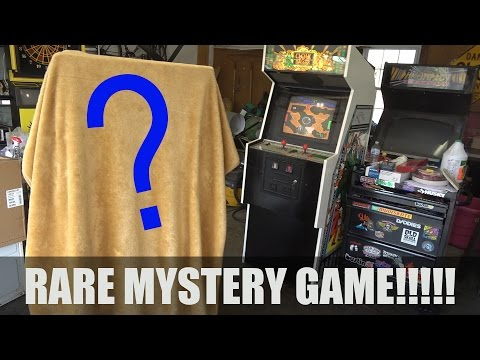 May 3, 2017 - Rare Mystery Arcade Game get!!!!