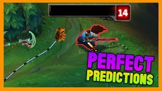 Perfect Prediction Moments - League of Legends