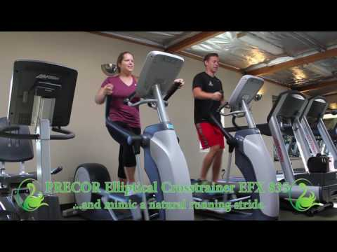 Gym Equipment: PRECOR Ellipticals
