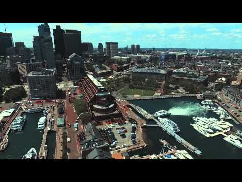 Long Wharf - Boston MA Dji phantom 3 professional drone