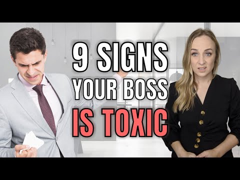 TOXIC MANAGER   9 Toxic Boss Signs to Look Out For