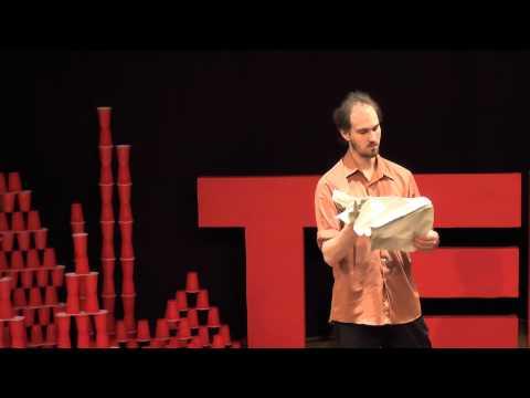 Art, Illusion, and Origami | Benjamin Parker | TEDxManchesterHighSchool